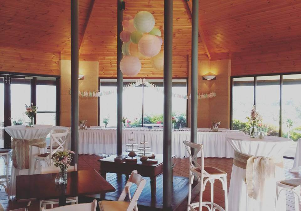 Pastel themed cocktail wedding reception, concept and styling and set up by us!